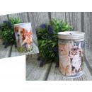 ingrosso Articoli da Regalo & Cartoleria: Salvadanaio in metallo per cani, gatti piccoli 8x1