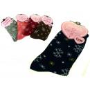 ingrosso Collant e calze: calzini fiocchi di  neve di spessore - 1 paio
