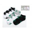 Chaussettes, chaussettes pour hommes, feuilles de