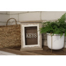 Box, key cabinet wood 25x20x6 cm