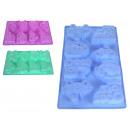 groothandel Huishouden & Keuken: Sl bakvorm silicone voor 8 cakes, bab