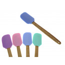 wholesale Kitchen Utensils: Sl silicone spatula with wooden handle 29 ...