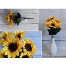 Sunflower bouquet of 7 flowers 30x6 cm