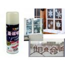 Neve spray bianco