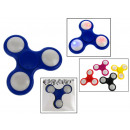 spiner, zabawka hand spinner 7,5x7,5 cm świecący