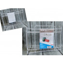 wholesale Small Parts & Accessories: Stand organizer wire 2 shelves 35x12x27 cm