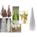 nagyker Otthon és dekoráció: Polisztirol díszítésére kúp 40 cm