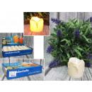 Großhandel Home & Living: LED-Plastikkerze für Batterien 5x3,5 cm - 1 Stück