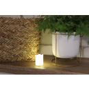 LED műanyag gyertya 5x3,5 cm-es kanóc elemekkel -