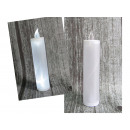 wholesale Candles & Candleholder: Candle, led candle shining on batteries, high 17