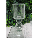 wholesale Wind Lights & Lanterns: Candle holder glass tube on 3 crystal balls 1