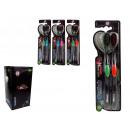 wholesale Dental Care: Toothbrushes black  18.5 cm - set of 2 pcs