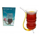 wholesale Drinking Glasses: Glass, glass with a tube, straw