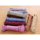 hurtownia Dom & Kuchnia: Linka, sznur do wieszania prania mix kolor 10m