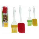 Set di spatole in silicone + pennello da cucina pe
