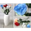 nagyker Otthon és dekoráció: Mesterséges rózsa keverék színe 30 cm, 25. sz