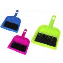 Großhandel Reinigung: Kehrschaufel + Bürste Mini Satz von 20x13 cm