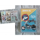 wholesale Models & Vehicles: Plates, retro metal pictures, motorcycles, 30x