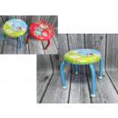 Großhandel Möbel: Hocker mit Metall  Beißringe Kinder in den Sitzen