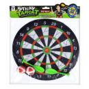 ingrosso Giochi di società: Un bersaglio con palline e freccette da 28 cm