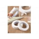 Ruban mousse double face, blanc, largeur 2,3 cm (