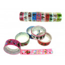 wholesale Shipping Material & Accessories: Christmas decorative sticker tape - set 10