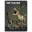 grossiste Jouets: Dossier avec dinosaure élastique a4