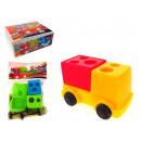 Großhandel Modelle & Fahrzeuge: Anspitzer Spielzeugauto, 2 Klingen 6,5x4 cm