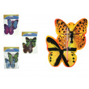wholesale Weather Stations: Thermometer butterflies 13.5 cm in foil mix ...
