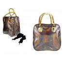 Großhandel Reise- und Sporttaschen: Handtasche, holografische Reise 30x14x30 c