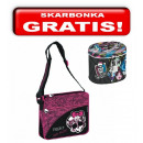 Bag, borsa a tracolla con patta Mini Monster High