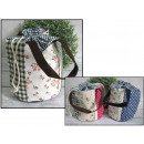 Bag, patchwork bag 16x18 cm