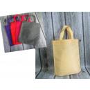 groothandel Boodschappentassen: Boodschappentas  gladde verticale kleuren 34x30 cm