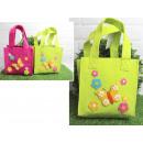 wholesale Handbags: Felt bag with decorations mix color 35x19x19x9 cm