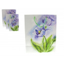 wholesale Gift Wrapping: Gift bag blue crocus 23x18x10 cm -