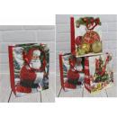 groothandel Stationery & Gifts: Kerstcadeautas 32x26x10 cm -