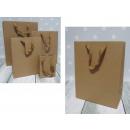 Sacchetto regalo eco verticale 20x15x7 cm - 1 pezz