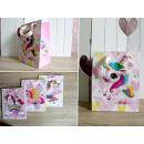 Unicorno borsa regalo 42x30x12 cm - 1 articolo