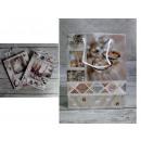 Sacchetto regalo di nozze 23x18x10 cm