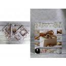 Sacchetto regalo di nozze 32x26x12 cm