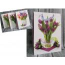 Borsa prezentowa tulipani 42x30 cm