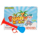 Großhandel Fahrräder & Zubehör: Trompete für Fahrrad Kunststoff Farbe 17 cm