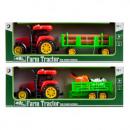 Suono trattore + accessori, luce in scatola 37x
