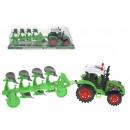 nagyker Játékok: Traktor 36x9x11 cm-es eke