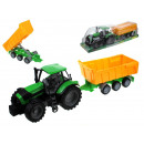 Tractor with a 53x14x14 cm trailer