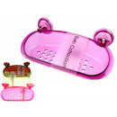 wholesale Bath Furniture & Accessories: Transparent soap dish with a 24,5x12 cm ...