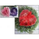 groothandel Food producten: Gift rozen parfums  in het hart van 12 art 12x12 cm