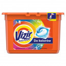 wholesale Household & Kitchen: Vizir washing capsules 15 piece in a bucket - for