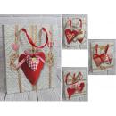nagyker Egyéb: Ajándékcsomagban pulóver-szívvel 32x26x12 cm -