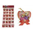 Carte de la Saint-Valentin, étiquette pour pr